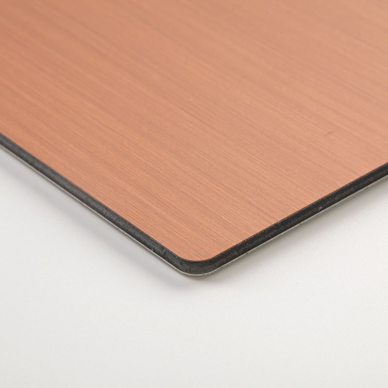 Panel compuesto de cobre