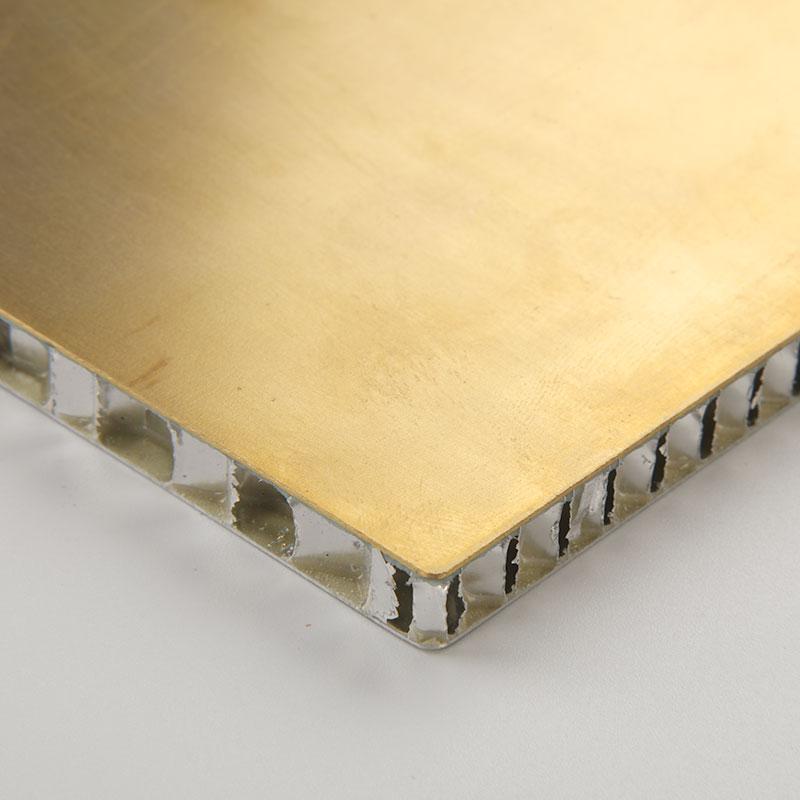 Panel de nido de abeja de aluminio